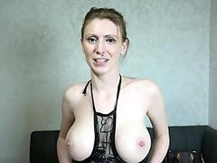 Busty Charlee Chase Shares a Big Cock With a Nerdy MILF