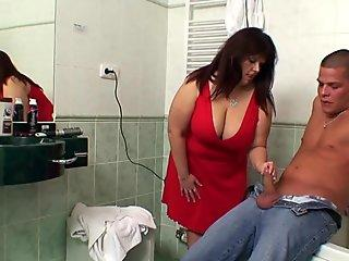 Mega tits mother-in-law