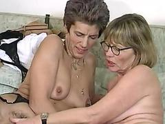 Stockinged stepmom assfucks while in lingerie