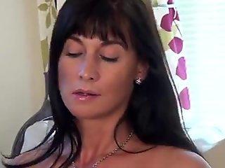 Cheating Cougar Krissy Lynn Blows Stepson to Shut Him Up!