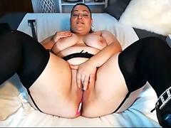 Exotic Cassidy Clay getting plowed harder on her twat until she gets real cummed