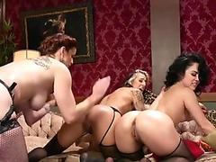 Blonde Star Maggie Green Anal Fucks Dildo & Blows A Big Cock