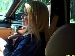 Babe gives raucous cock riding