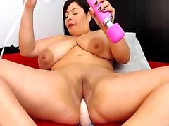Tiara Ayase bends for cock and gets it hard - More at 69avs.com