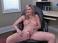 Oiled up beauty fucks her masseur moaning like a maniac