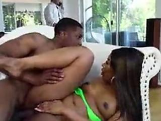 Chanell Heart In plowing Behind Step Dad?s Back