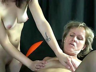 OldNannY Great Lesbian Sex Footage Compilation