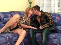 grannie Gets Her unshaved muff Fucked Deep