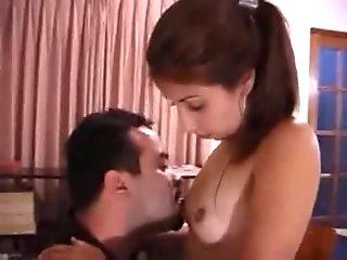 Naughty Nerd Fingers her Wet Tight Pussy