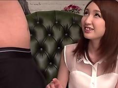 Amazing asian blowjob with sensual Rikka Anna - Cleopatra Rios
