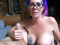 Blowjob in White and Black