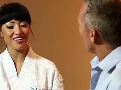 Nuru massage japanese slips and Slides on Client