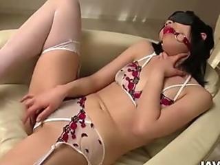 Nozomi Yui gets fucked in raw bondage porn show