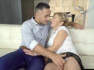 hot grandma and grandson
