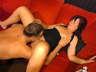 XXX OMAS - Nympho German granny gets fucked hard