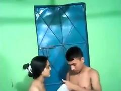 Desi boyfriend girlfriend boobs press suck