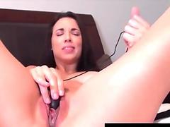 Busty Penthouse Pet Jelena Jensen Cums with Black Vibrator!