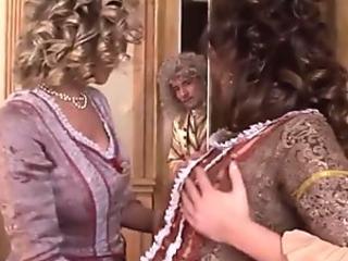 Sexy Lora licking cum off Tiffanys pussy
