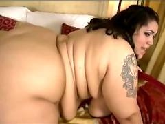 Chubby bitch prefers kinky doggy style sex