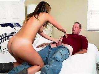 Petite Young Tart Kate Rich Sates Her Desires with a Big Cock