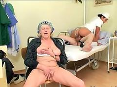 crazy scorching Nurse Helps senior Patient To Get Laid