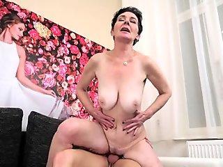 Torrid Mature Sex with Amazing Latina Redhead Claudia Fox