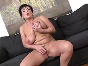 Granny Hardcore fucked by black man in her tight ass loves anal sex
