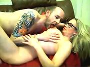40s brit web cam couple Missionary Tit Sucking