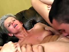 White milf sucks cock and ally associate fucks mom from behind The More Badmoms The