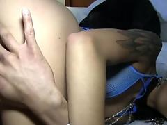 Slave Toe Sucking Foot Worship (Lesbian Feet Fetish) (FootDomUnited)