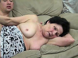 fur covered grannie munch and fuck mature woman