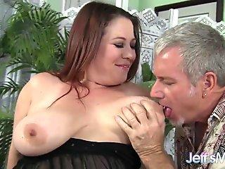 NYMPHO Dana DeArmond has all of her holes penetrated