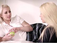 Pretty teen Lexi gets plowed Kenna