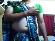 Very hot Indian Shemale bring in she is infront of CAM