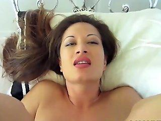 Young Brunette Want To Tra A Big Bl