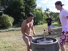 Homo erotic male massage
