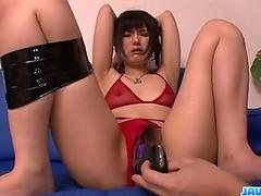Satomi Ichihara obedient milf gets fucked on cam