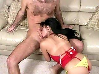 Busty Asian in her first homemade video