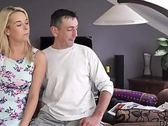 Mature whore rides cock