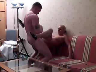 Hot gay Timo Garrett gives his teacher Julian Smiles a classic apple