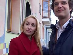 GERMAN SCOUT - tough ass fucking FOR thin MILF AT STREET CASTING