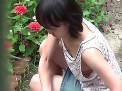 Asian babes nipples seen