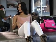 mischievous tiny Gina Valentina likes getting Creampied