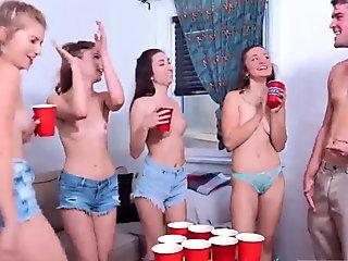 Campus sex party first time Dorm Party