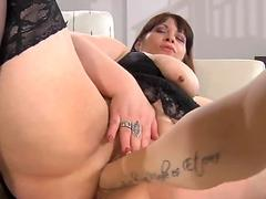 Russian bbw mature Caroline M two