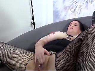 REIFE SWINGER - tattooed BBW German amateur ass humped stiff
