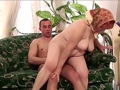 New nanny pussy dildoing