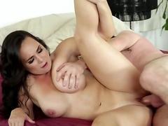 Pussy rubbing pornstar