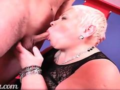 Mature bbw whore fuck young boy